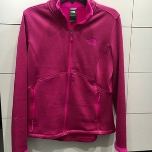 Pink North Face jacket - never worn